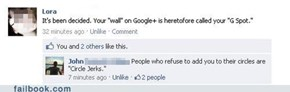 Google+ Terms are Getting Nasty