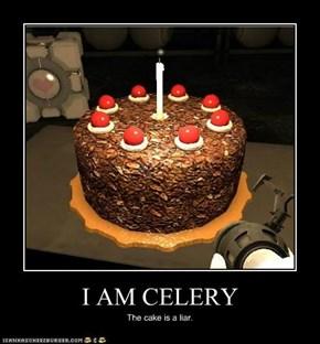 I AM CELERY
