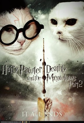 It All Ends: Hairy Pawter and the Deathly Meowlows Part 2