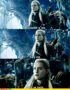 How Old, Exactly, Legolas?