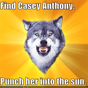 Find Casey Anthony.  Punch her into the sun.