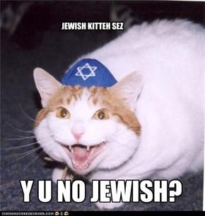 BEWARE JEWISH KITTEH