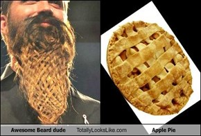 Awesome Beard Dude Totally Looks Like Apple Pie