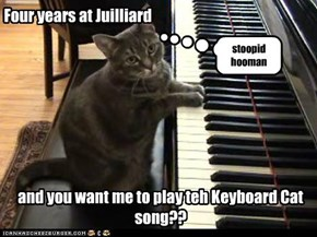 Four years at Juilliard