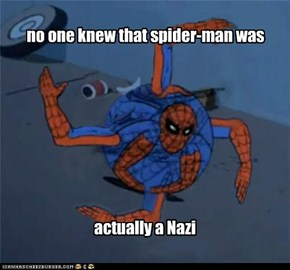 The sad truth about spider-man