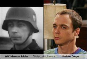 WW2 German Soldier Totally Looks Like Sheldon Cooper (Jim Parsons)