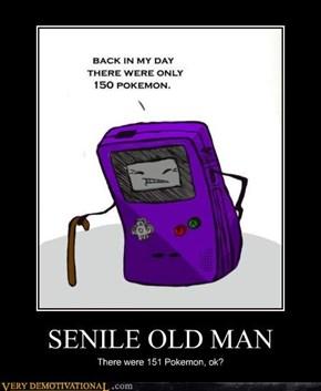 SENILE OLD MAN