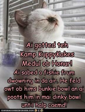 A Hero at Kamp KuppyKakes
