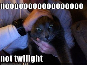nooooooooooooooooo  not twilight