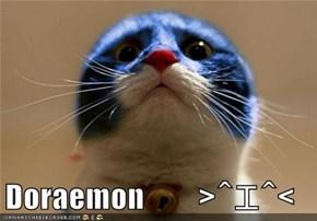 Doraemon   >^エ^<