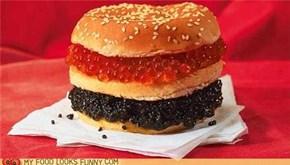 Caviar Burger