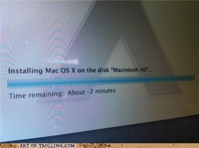 Scumbag OS X Lion Doesn't Care About the Space-Time Continuum