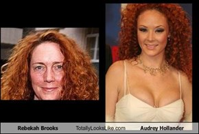 Rebekah Brooks Totally Looks Like Audrey Hollander