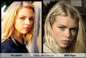 Ali Liebert Totally Looks Like Billie Piper