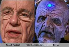Rupert Murdoch Totally Looks Like Davros
