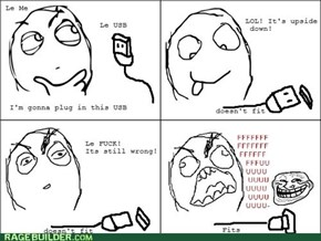 USB Troll Rage!