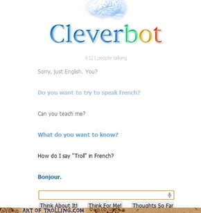 Touché Cleverbot