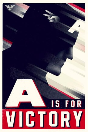 Captain America Propaganda Posters of the Day