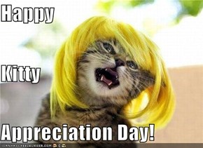 Happy Kitty  Appreciation Day!