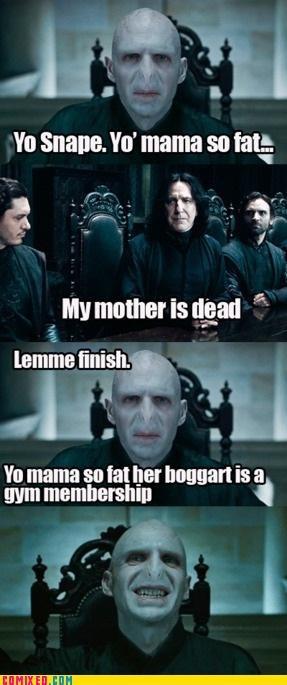 Yo Snape, Lemme Finsih