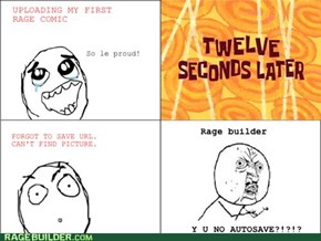 Uploading Rage Comic fail