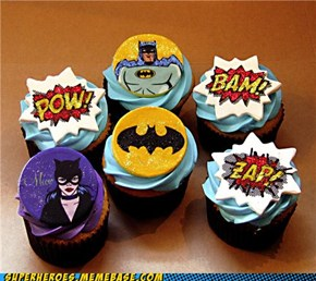 Holy Cupcakes Batman!