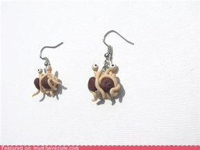 Flying Spaghetti Monster Earrings