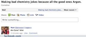 He's No Einsteinium