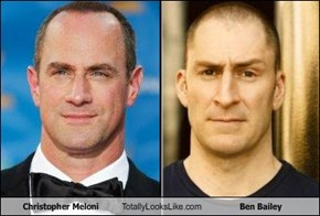 Christopher Meloni Totally Looks Like Ben Bailey