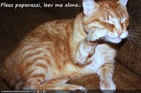 Pleez paparazzi, leev me alone...