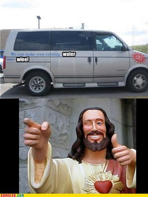 Lol Jesus Now Makes Housecalls