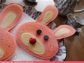 Bunny Cakes for Breakfast