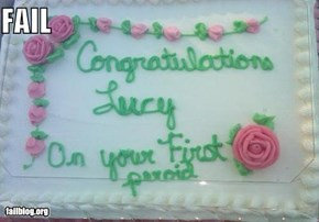 Congratulatory FAIL