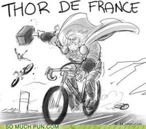 He Rides for Team Valhalla