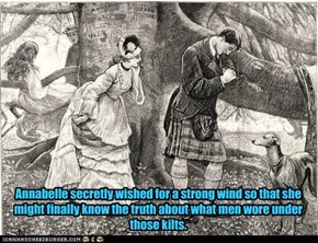 Kilts - Raising Questions for Centuries