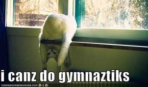 i canz do gymnaztiks