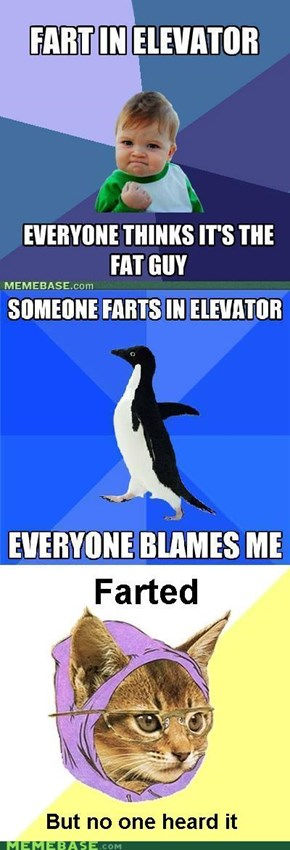 Reframe: Elevator Fart