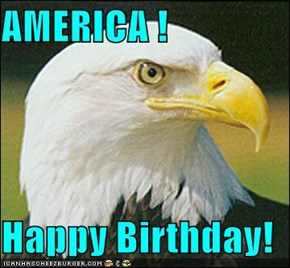 AMERICA !  Happy Birthday!