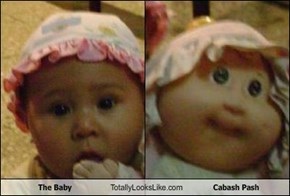 The Baby Totally Looks Like Cabash Pash