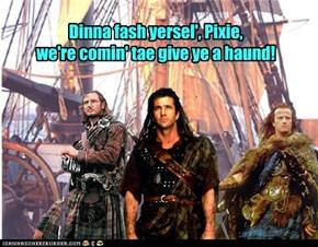 Scots wae hae! to the waturblol fite!