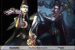 Bayonetta Totally Looks Like Vayne