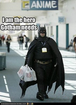 I am the hero Gotham needs