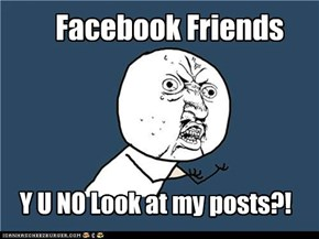 Facebook Y U NO guy
