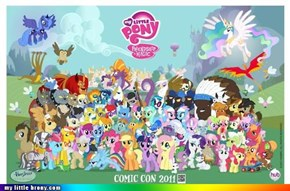2011 Comicon Pony Poster!