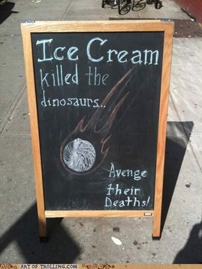 Avenge All the Dinosaurs!