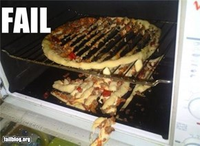 CLASSIC: Pizza Baking FAIL