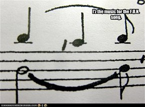 I'z the music for the F.U.N. song.