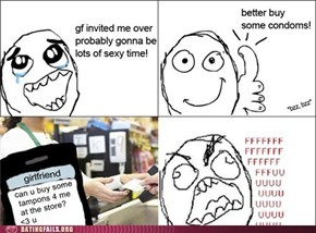 Really Awkward Cashier Interaction in 3... 2... 1...