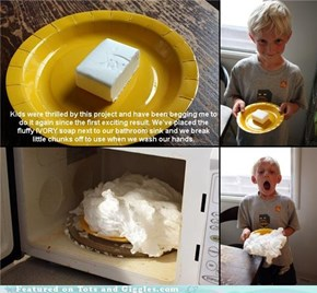 Stand Back, We're Doing Science: Safe Soap Trick