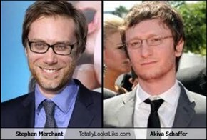 Stephen Merchant Totally Looks Like Akiva Schaffer